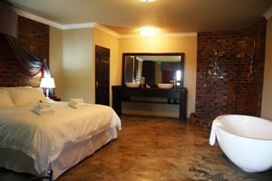 En-suit bathrooms and Luxury amenities at Accolades Accommodation and Wedding Venues in Midrand