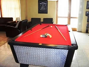 Morning, Noon & Night Guest House in Alberton has a lovely games room and Lapa area
