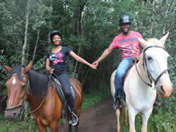 Saddle Creek Ranch offers horseback riding with a difference