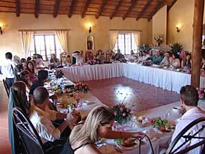 Valverde Country Hotel in Muldersdrift has 2 wedding venues for weddings from 20 to 200 guests