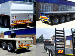 Paramount Trailers stocks Superlink Trailers: Flat Decks and Tautliners Triaxle and Double Axle Trailers