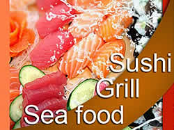 George's Bistro for seafood, sushi, Mediterranean Cuisine and steakhouse
