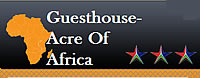 Acre of Africa Guest House in Boksburg offers a wide choice of rooms to suit all tastes