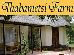 Thabametsi Farm for affordable family accommodation inear Magaliesburg