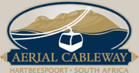 he Harties Cableway offers visitors panoramic views of the beautiful Magaliesberg, Hartbeespoort Dam and surrounding areas