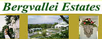 Bergvallei Estates in the Muldersdrift area for luxury accommodation