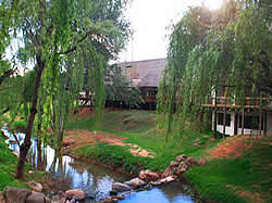 The Ramkietjie Country Restaurant near the Cradle of Humankind offers fine dining